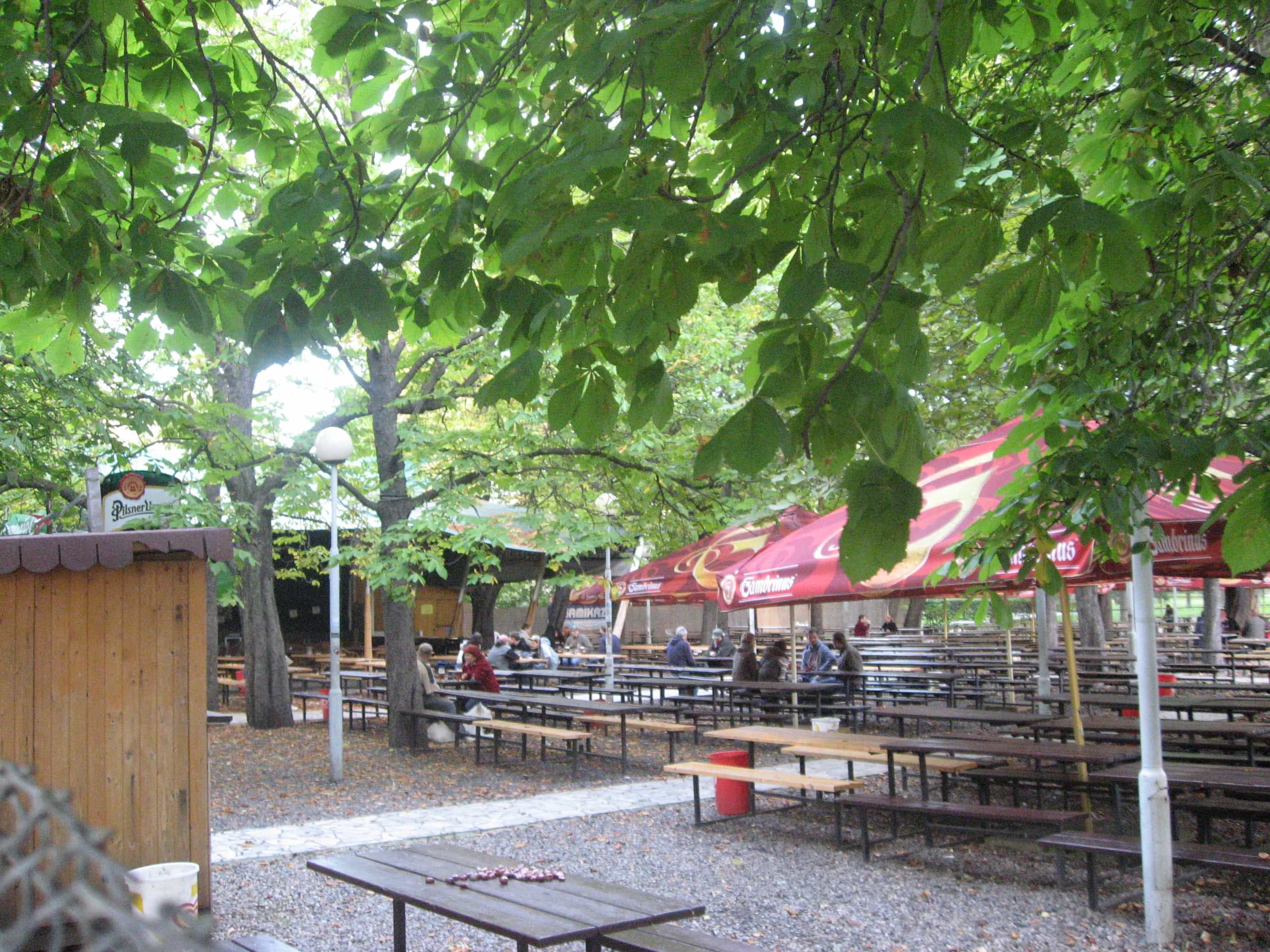 Riegrovy sady no more? Lease expires on popular Prague beer garden