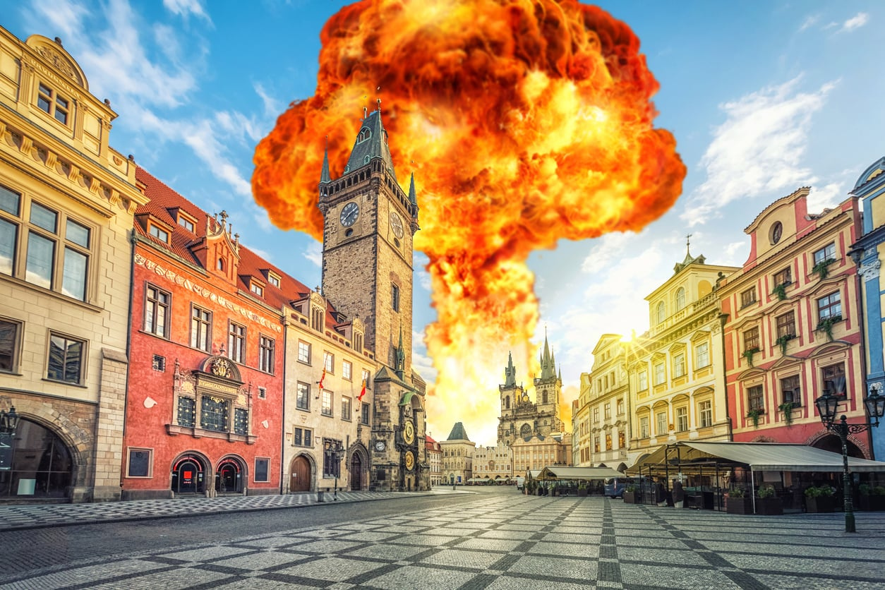 Czech Republic among world's safest countries to seek refuge during WWIII, says The Sun