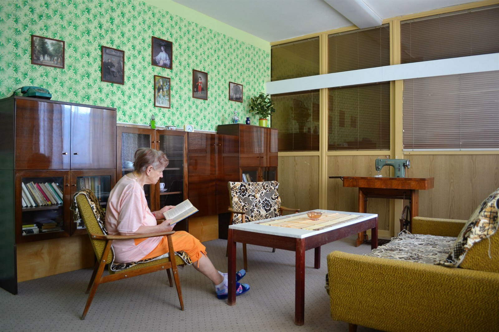 This Czech hospital creates a retro '60s atmosphere for its elderly patients