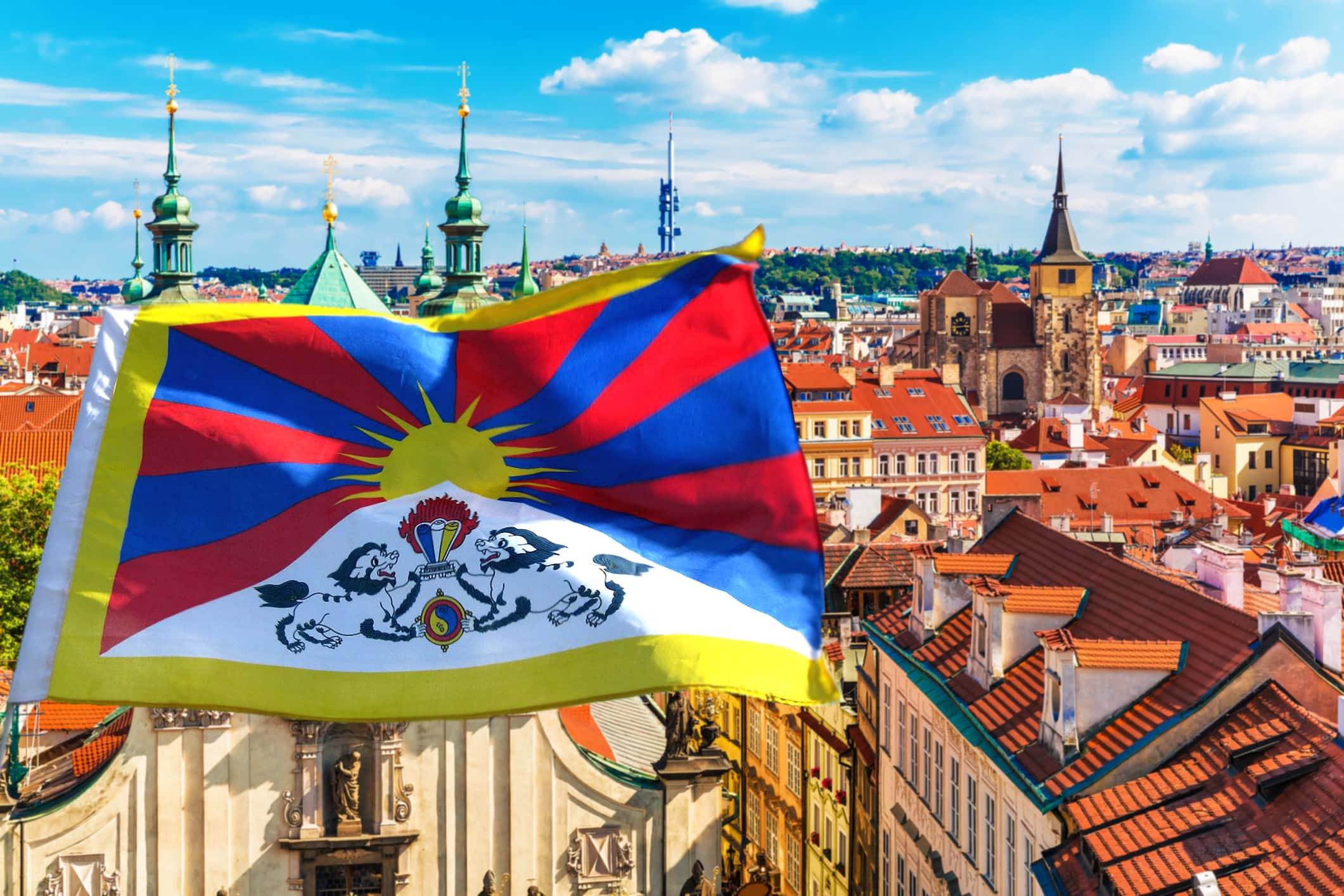 Prague to once again fly a Tibetan flag at City Hall