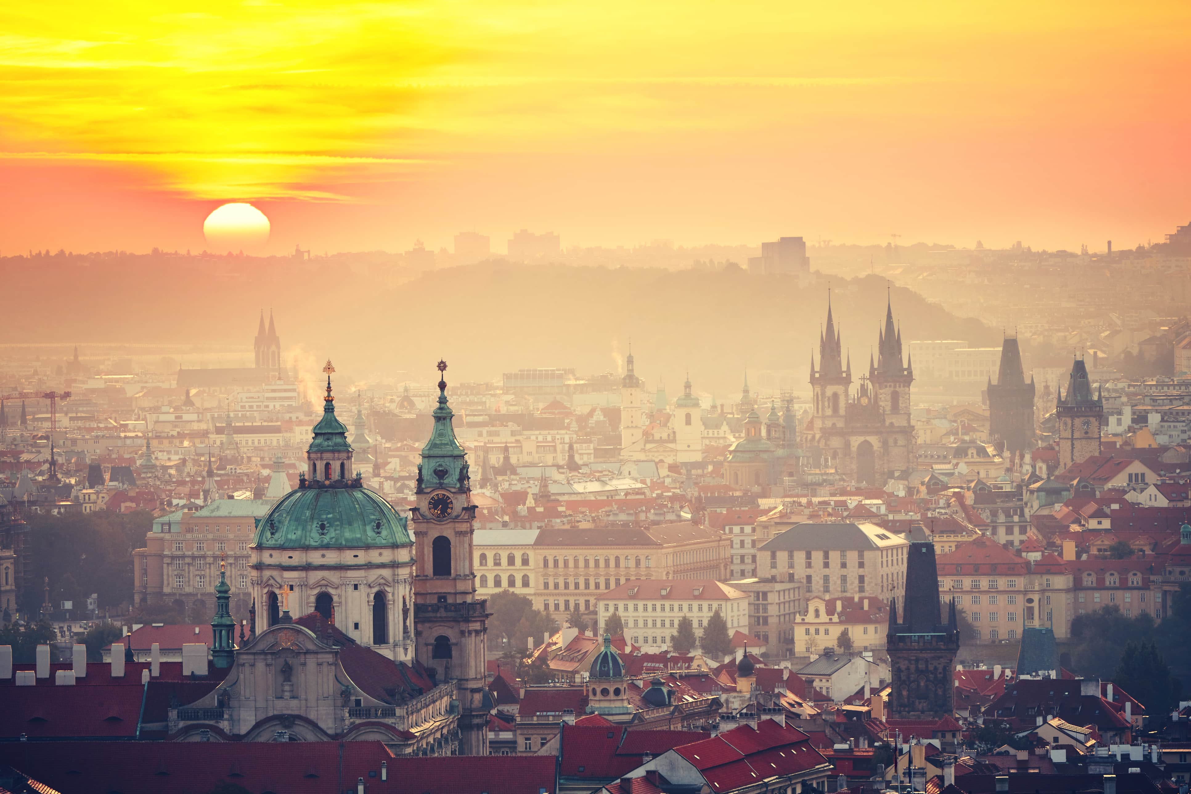 Incredibly hot June broke Prague's all-time record