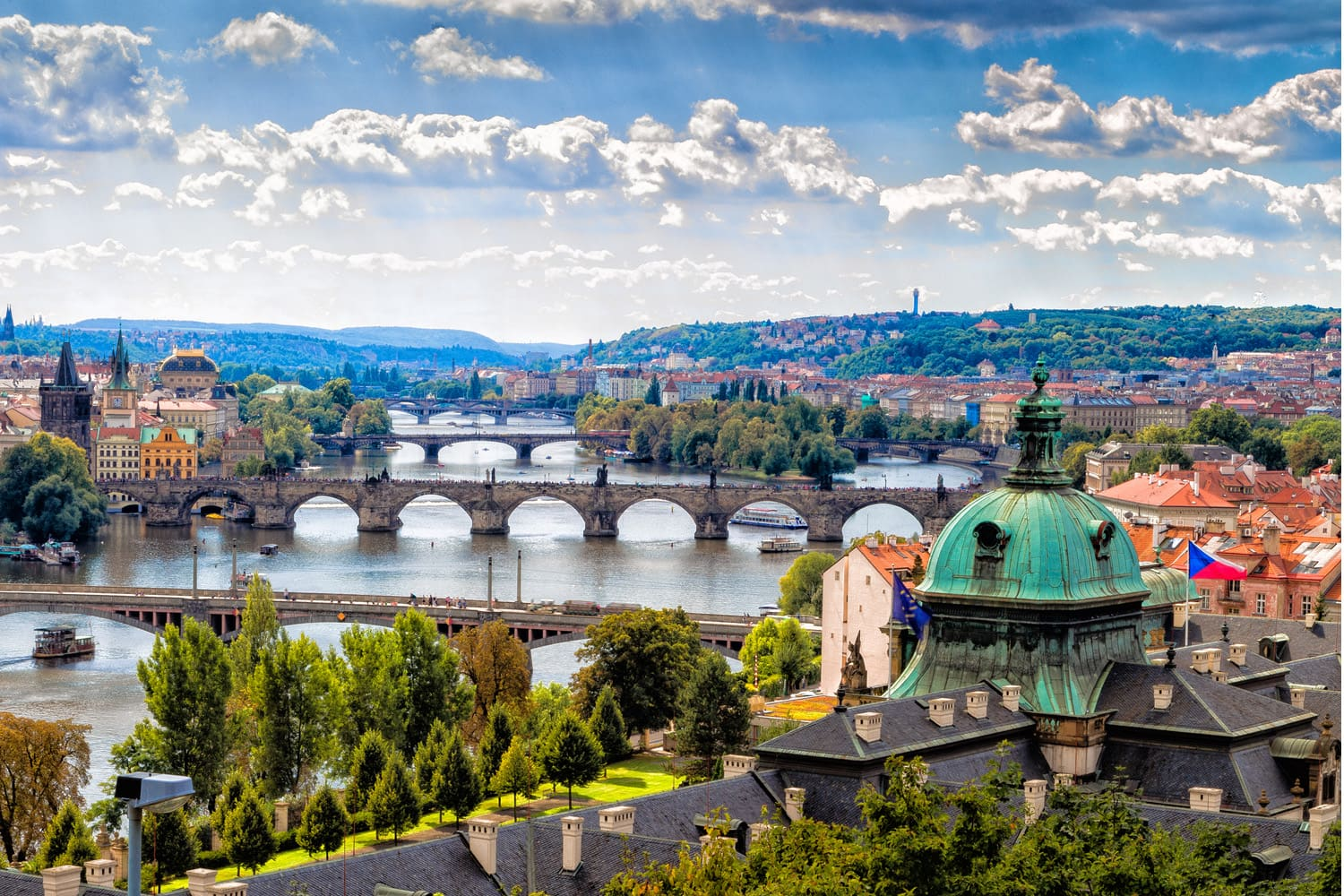 Prague rated among the 50 most beautiful cities in the world