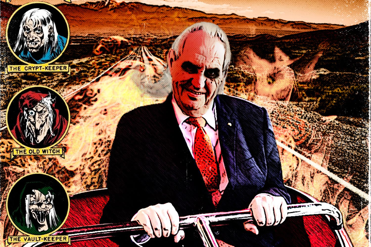 Photo of Czech President Miloš Zeman at Matějská pouť funfair goes viral