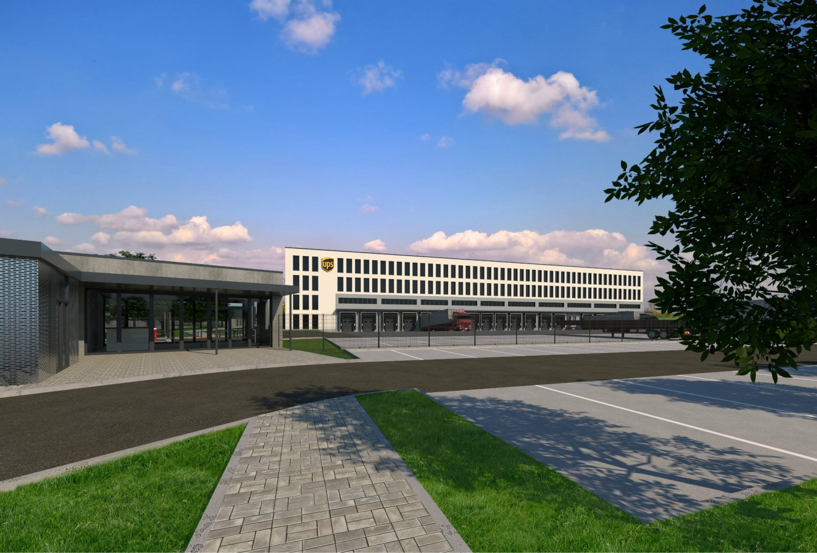 UPS to open a new logistics center near Prague
