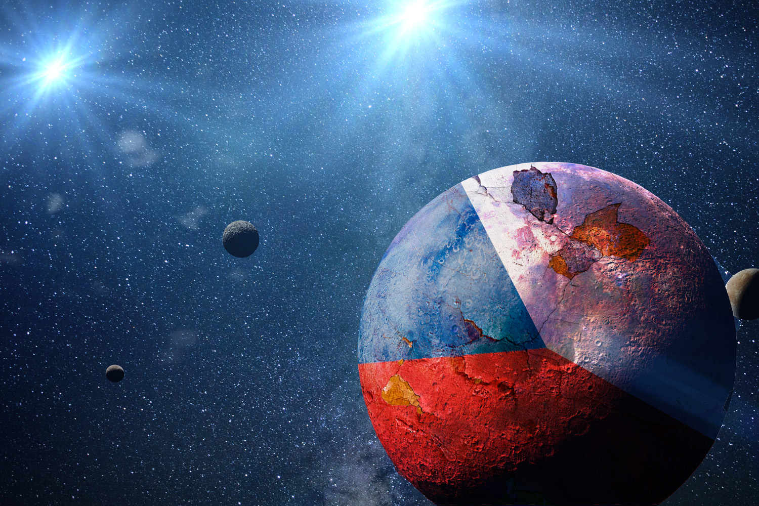 The Czech Republic will get to name a new planet, but it can't be Havel or Jagr