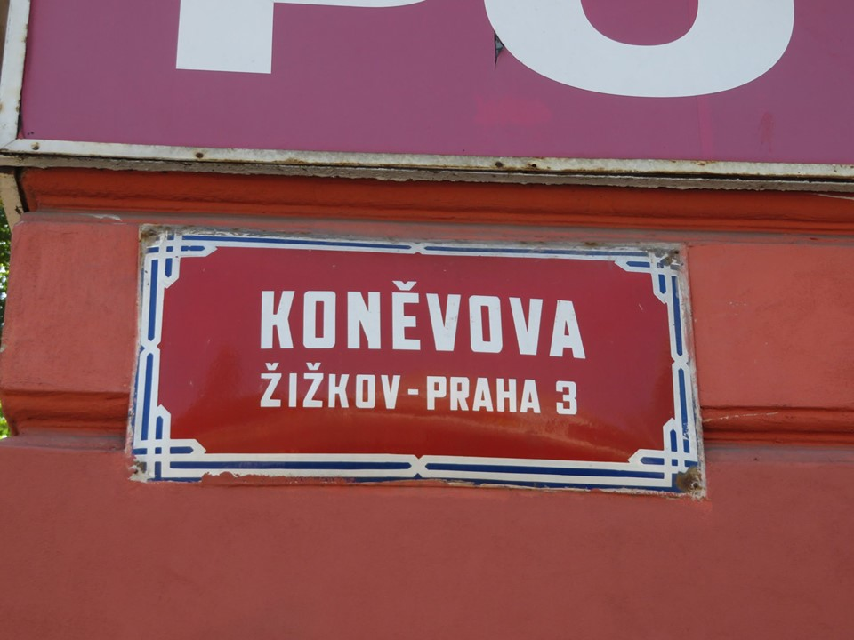 Žižkov's Koněvova Street may be renamed, as Prague opposition to its Soviet namesake grows