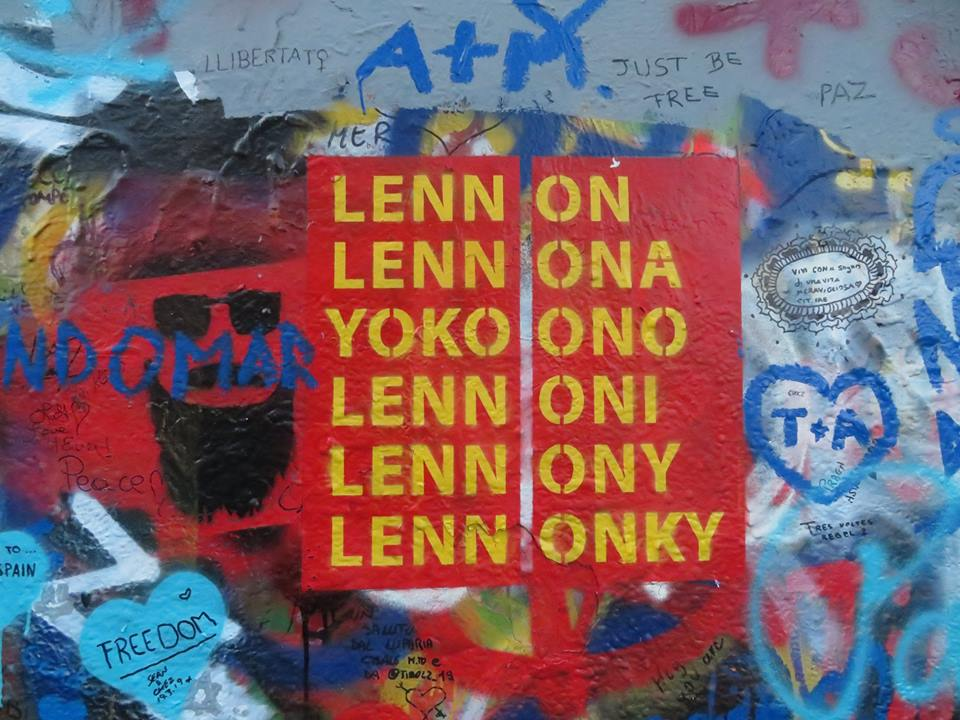 Prague's Lennon Wall to get security cameras and authorized mural, random spraying will be banned
