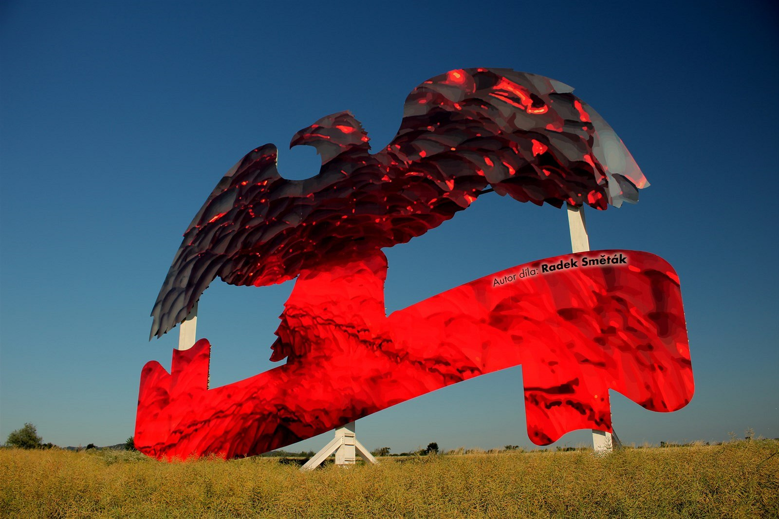 Mattoni's highway eagles have become roadside art to skirt Czech anti-advertising laws