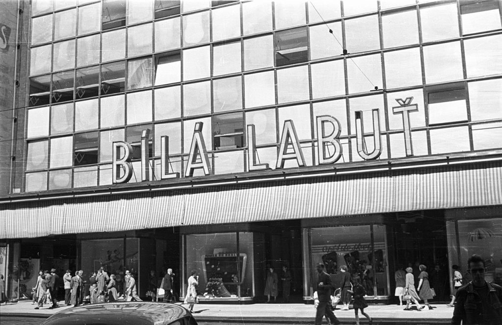 Historic Prague department store Bílá Labuť will be transformed into a Parisian-style shopping gallery