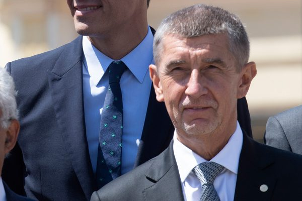 Andrej Babiš at the EU summit in May via Wikimedia / Pool Moncloa / Borja Puig de la Bellacasa