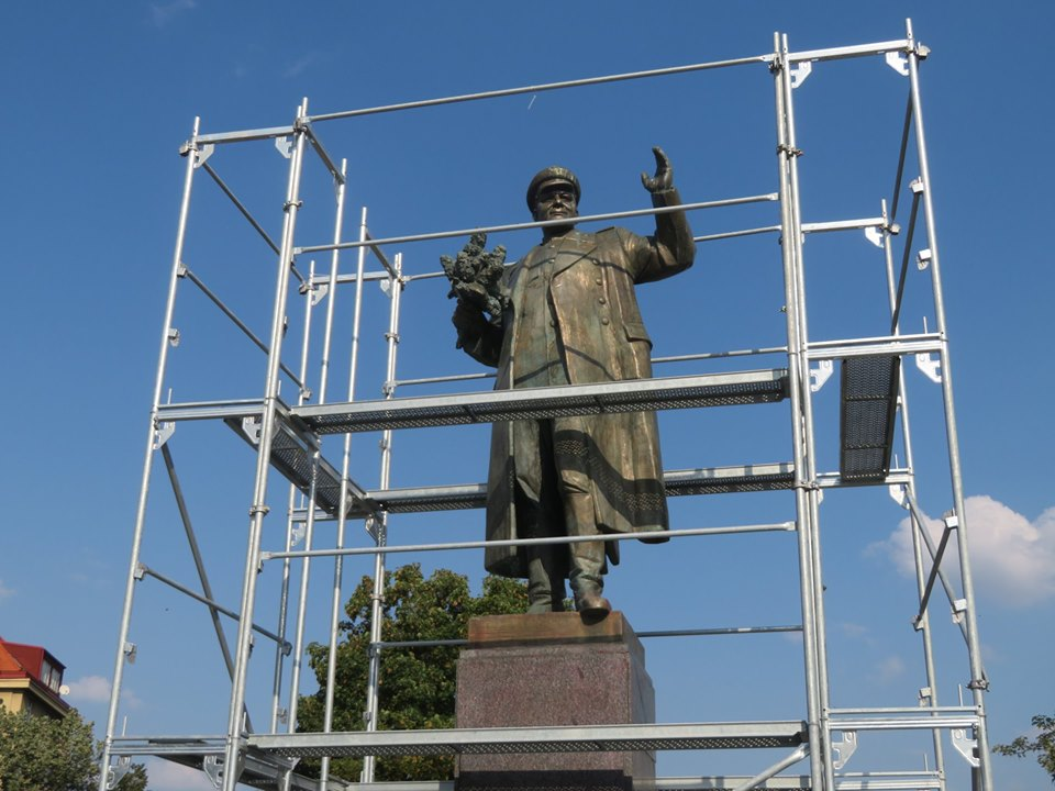 Prague 6 Town Hall will decide the fate of the controversial statue of Marshal Konev