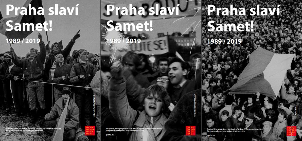 Prague launches campaign supporting Velvet Revolution's 30th anniversary