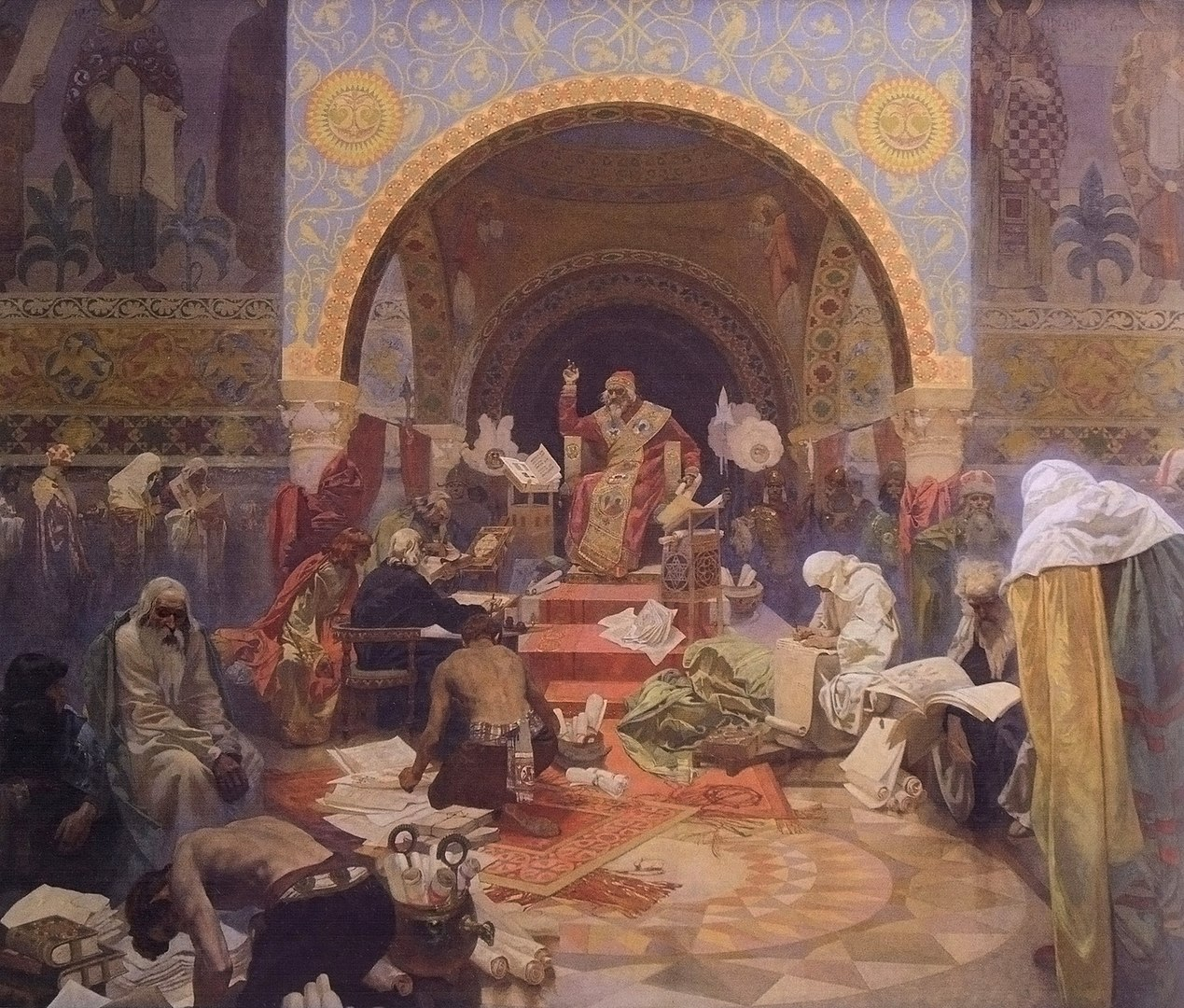 Alfons Mucha's Slav Epic may return to Moravský Krumlov for temporary display