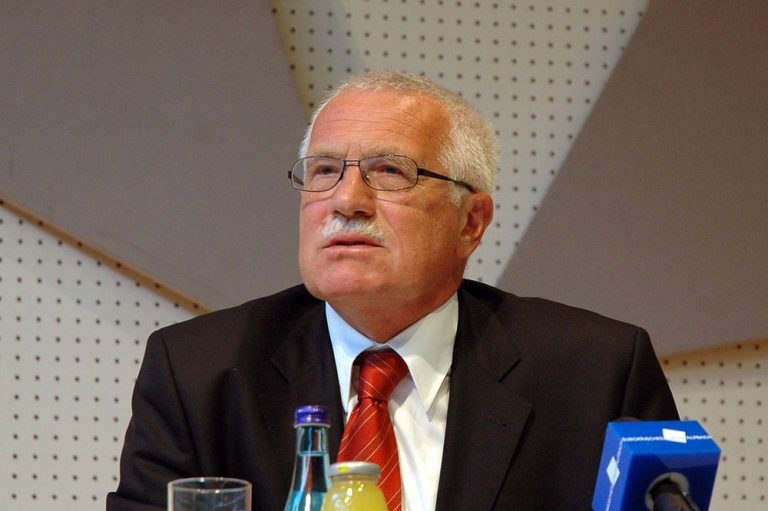 Václav Klaus at the European Forum Alpbach in 2005 via Wikimedia / DerHuti