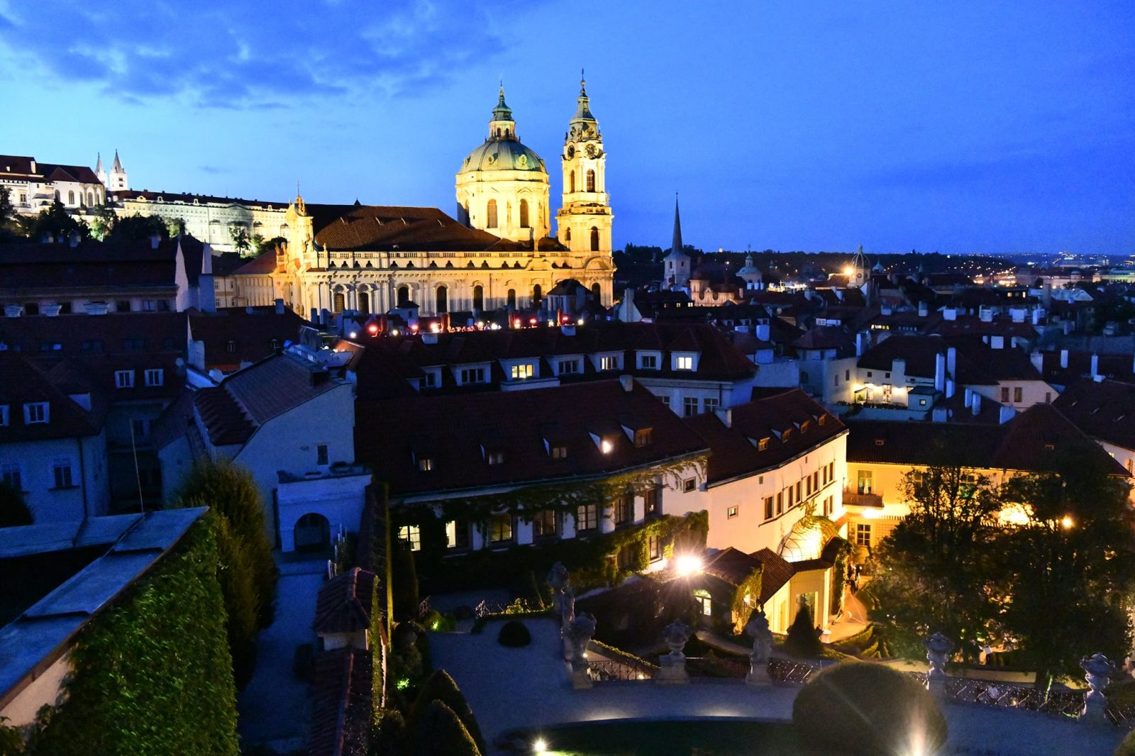 Prague's Baroque Vrtba Garden to light up the Halloween night in Malá Strana