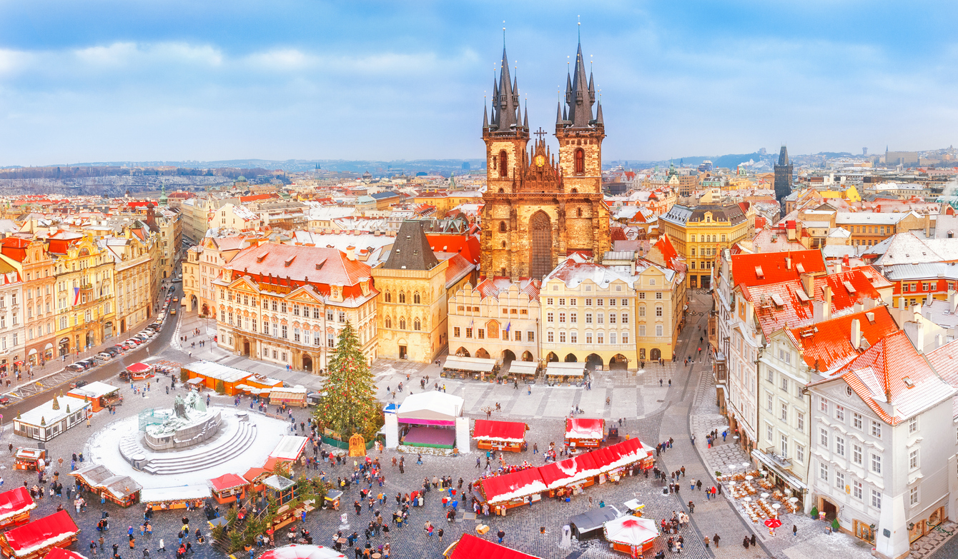 Prague's Old Town Square Christmas tree will be lit six times on November 30