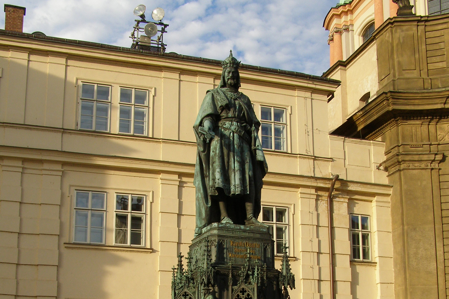 Charles IV crowned greatest Czech in new poll; Karel Gott surges to #4