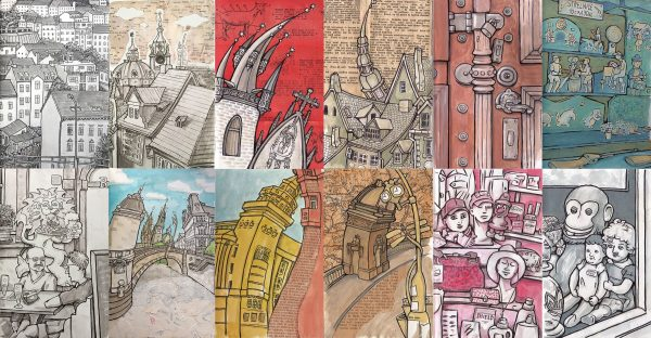 "Prague illustrator Ken Nash: ""I miss the old gnarly hospodas with the tobacco-stained walls"""