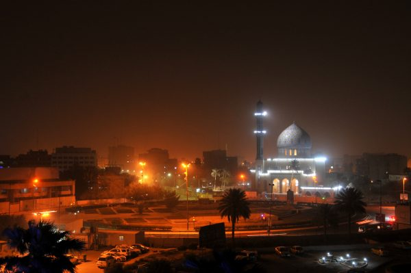Baghdad, Iraq at night