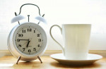 Alarm clock. Illustrative image