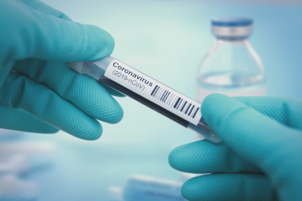 Detail of coronavirus test sample via iStock / narvikk
