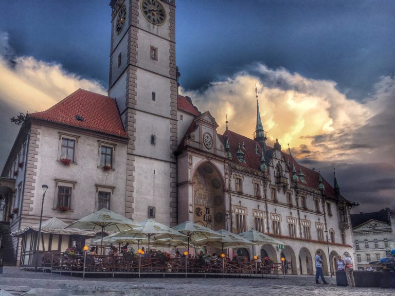 Town Hall in olomouc, Czech Republic via annajelec from Pixabay
