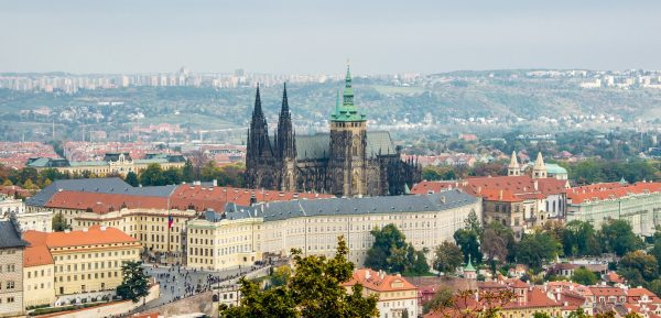 Prague Castle, Czech Republic via Pixaline from Pixabay