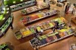 Overhead view of a supermarket via ElasticComputeFarm from Pixabay