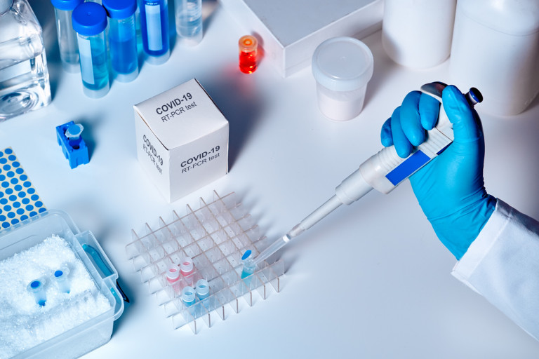RT-PCR kit to detect presence of 2019-nCoV or covid19 virus in clinical specimens via iStock / anyaivanova