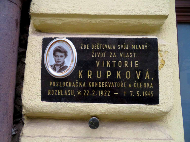 Prague uncovered: Plaques across the city mark the heroes of the Prague Uprising