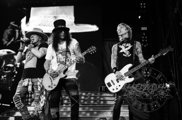 Guns N'Roses in Oslo, 2018 via gunsnroses.com