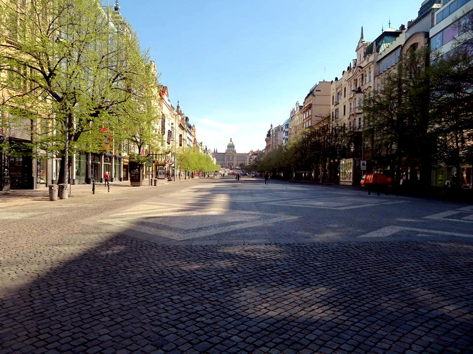 wenceslas square paving