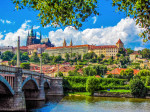 Summer view of Prague, Czech Republic via iStock / Diego Fiore