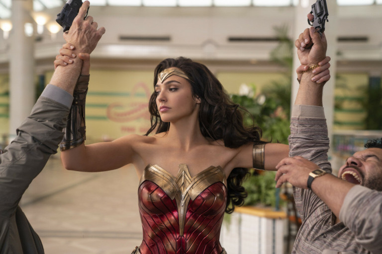 Gal Gadot stars in Wonder Woman 1984, now scheduled to hit Czech cinemas in October. Photo © & ™ DC Comics and Warner Bros. Entertainment Inc.