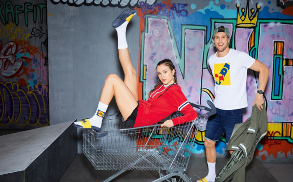 Fashionable Lidl merchandise via Lidl.cz