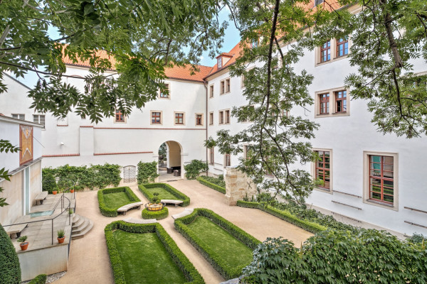 Discover a secret garden party in Prague's most historic quarter