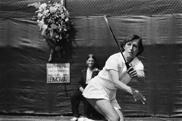 Martina Navratilova in 1980 via Dutch National archives