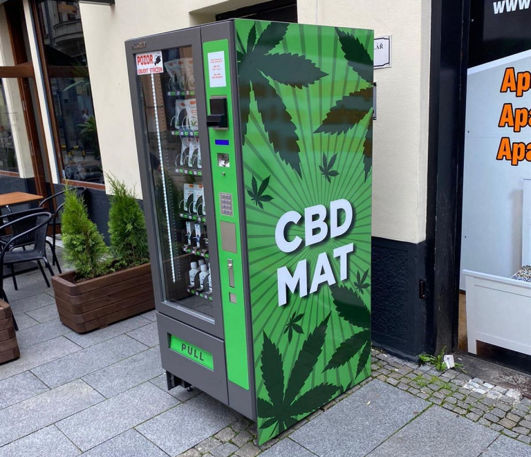 cannabis vending machine