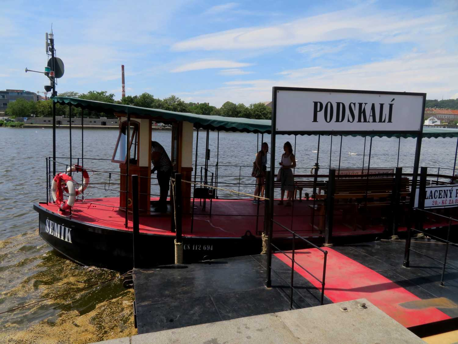 , New ferry service connects Prague's Náplavka and Smíchov waterfronts, Expats.cz Latest News & Articles - Prague and the Czech Republic, Expats.cz Latest News & Articles - Prague and the Czech Republic
