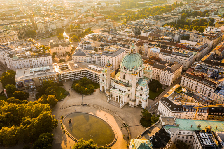 Vienna, Austria ranks among the Czech Republic's list of risk areas in the new list. Photo via iStock / CHUNYIP WONG