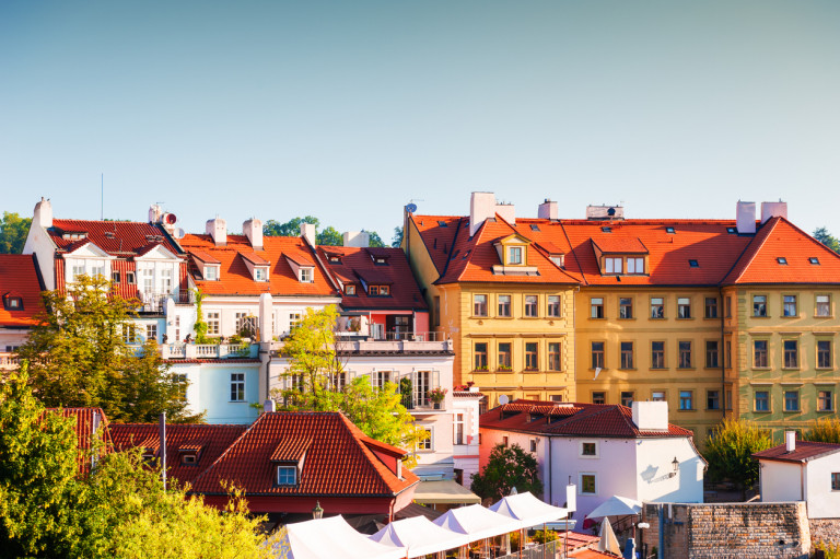 Prague properties in Old Town via iStock / Olga_Gavrilova