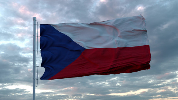 Flag of the Czech Republic via iStock / Дмитрий Ларичев