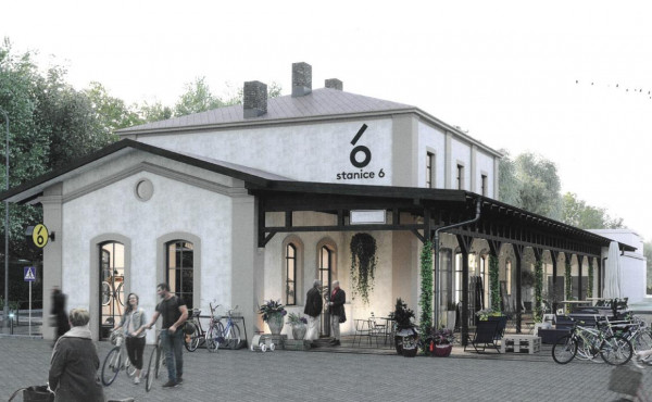 Former Bubeneč rail station in Prague 6 will transform into a local cultural center