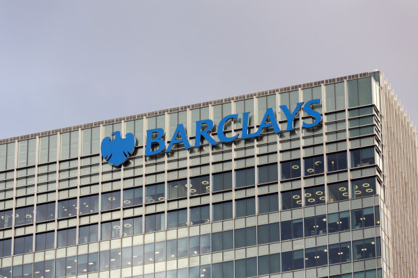 Barclays corporate headquarters in London, United Kingdom via iStock / _ultraforma_