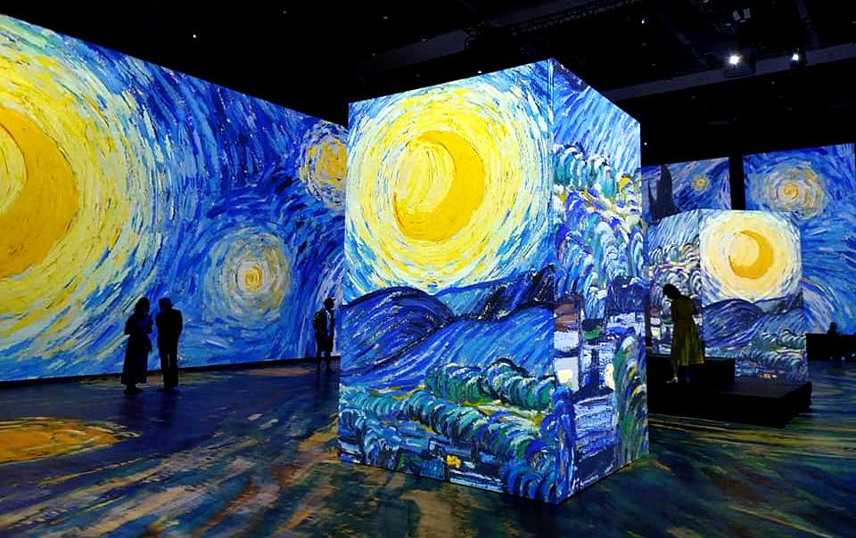 once upon van gogh